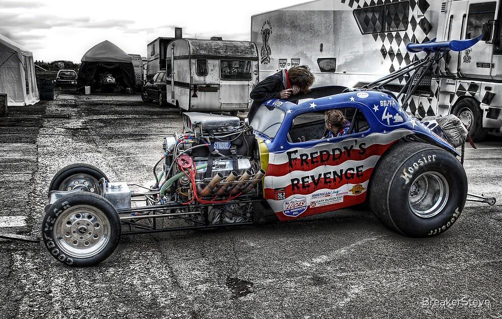 Freddys Revenge Drag Car by BreakerSteve