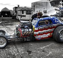 Freddys Revenge Drag Car by BreakerSteve