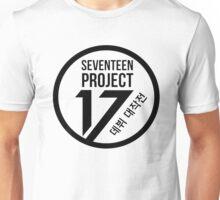 Seventeen Project, Black Text Unisex T-Shirt