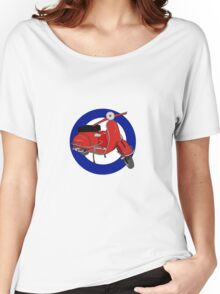 Mod Scooter Women's Relaxed Fit T-Shirt
