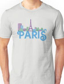 Skyline Paris Unisex T-Shirt