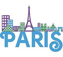 Skyline Paris Photographic Print