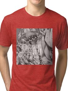 """Straight Outta Back"" Tri-blend T-Shirt"