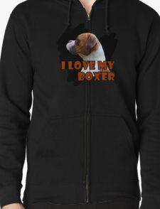 I Love My Boxer 2 T-Shirt