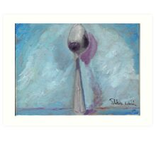 Standing Spoon Art Print