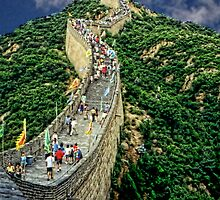 The Great Wall of China by barnsis