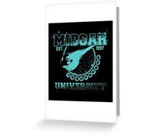 Midgar University Greeting Card