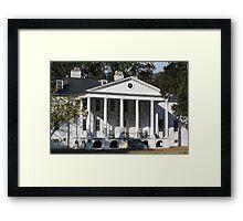 Hampton Plantation Framed Print