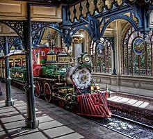 The Disney Train by BreakerSteve