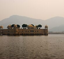 Lake Palace, Jaipur, Rajasthan by Christopher Cullen