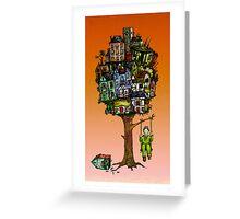 Tree Housing Benefits Greeting Card
