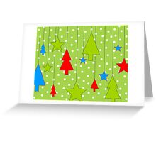 Hanging Christmas Greeting Card