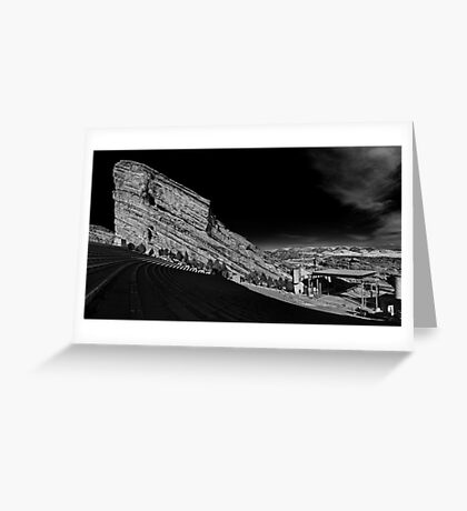 Red Rocks Amphitheater Greeting Card