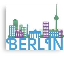 Skyline Berlin Canvas Print