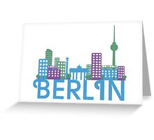 Skyline Berlin Greeting Card