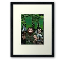 Talon, The Teeth and Wisdom Framed Print