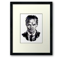 Moriarty (Andrew Scott) Framed Print