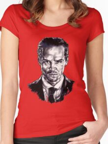 Moriarty (Andrew Scott) Women's Fitted Scoop T-Shirt