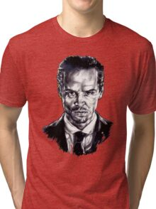 Moriarty (Andrew Scott) Tri-blend T-Shirt
