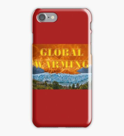 Fire & Ice - Global Warming iPhone Case/Skin
