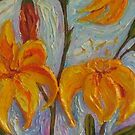 My Orange Day Lilies by OriginalbyParis
