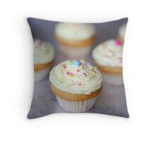 Vanilla Mini Heaven Throw Pillow