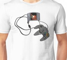 N64 Game and Controller  Unisex T-Shirt