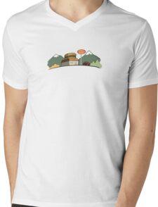 Burger Joint Mens V-Neck T-Shirt