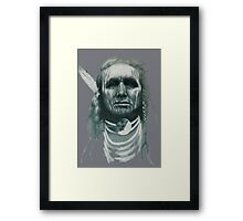 White Man Runs Him Framed Print