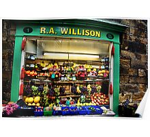 R. A. Willison, Est. 1800, Whitby Poster