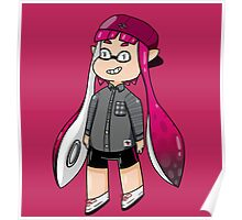 Inkling Girl - Pink Poster