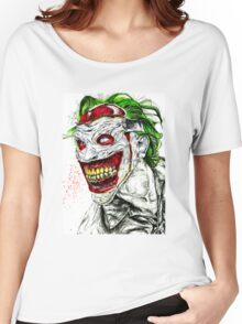 New 52 Joker DC Comic  Women's Relaxed Fit T-Shirt