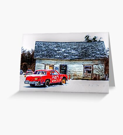 The Perfect Redneck Christmas Card - Springtown, Texas Greeting Card