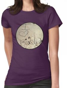I Heart Boobies Tee Womens Fitted T-Shirt