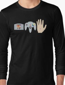 Mario Party Hand Blister Long Sleeve T-Shirt
