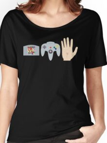 Mario Party Hand Blister Women's Relaxed Fit T-Shirt