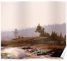 Grand Marais, Minnesota ~ The North Shore of Lake Superior Poster