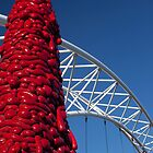 Pedestrian Bridge (Denver, Colorado) by Brendon Perkins