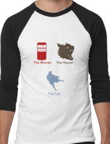 Sherlock Series 2--color Men's Baseball ¾ T-Shirt