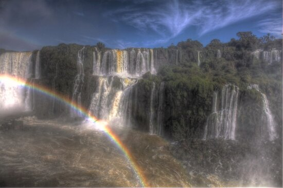 Iguazu Falls IV by Paul Duckett
