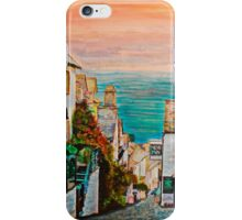Clovelly, famous fishing village, Devon - UK iPhone Case/Skin