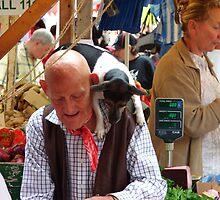 Portobello market characters by Neil Flowers