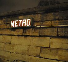 Paris Metro by FTYLOS30
