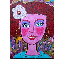 Tickle Me Pink Photographic Print