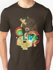 Abstract Universe's Scenery Graphic T-shirt T-Shirt
