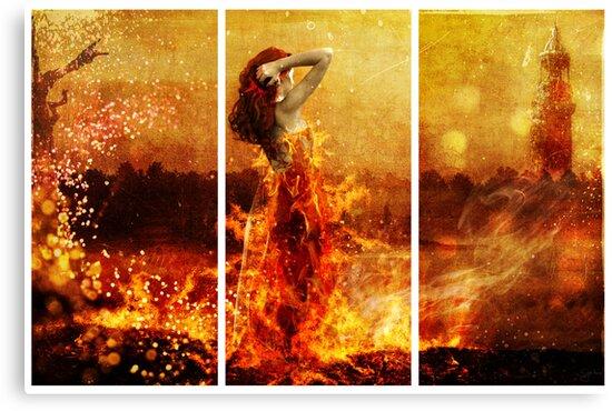 Fire by Sybille Sterk
