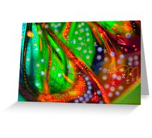 Oceanic Abstract Painting Greeting Card