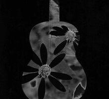Flower Guitar by DavidDArnold