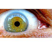 Macro Eye  Photographic Print