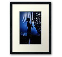 Backstage  Framed Print